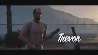 GTA 5 The Best Of Trevor Phillips Sack Funny Moments