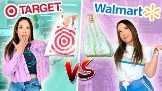 I WENT TO WALMART VS TARGET - WHAT $100 GETS YOU AT EACH STORE - $100 OUTFIT CHALLENGE | Mar