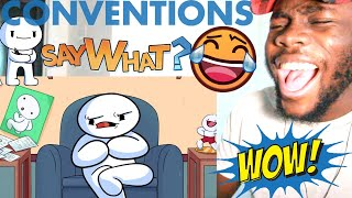 Conventions (I miss them) by TheOdd1sOut REACTION!!!