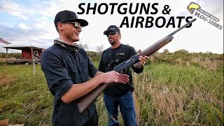 DALLMYD and 12 Gauge Shotguns & Custom Air-Boats on Lake Okeechobee