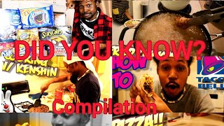 CoryxCooking [DID YOU KNOW] Compilation