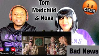 "Singer and Rapper Reacts to Tom Macdonald &Madchild ft Nova Rockafeller ""Bad News"""