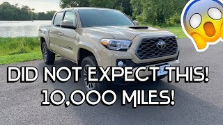 2020 Toyota Tacoma - 10,000 MILE REVIEW (The GOOD & The BAD)