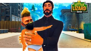 JOHN WICK ADOPTS DRIFT!! FORTNITE SHORT