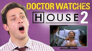 "Doctor Reacts to HOUSE M.D #2. | ""Three Stories"" 