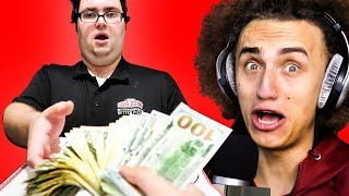 TIPPING PEOPLE $10,000! (Reacting To)