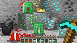 Minecraft BUT Ores Drop Ore Armor!