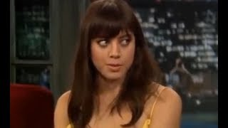 Aubrey Plaza is really WEIRD and...AWKWARD. I love it!