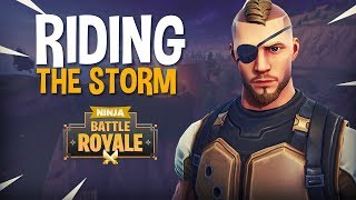 Riding The Storm!! - Fortnite Battle Royale Gameplay - Ninja & Hysteria