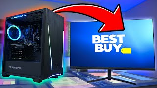 We bought a $700 Gaming PC from BestBuy..