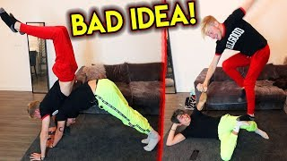 Trying the HARDEST YOGA POSES (Couples Edition) | Colby Brock