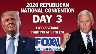 RNC Day 3 | Featuring President Trump, VP Mike Pence, Kayleigh McEnany, others