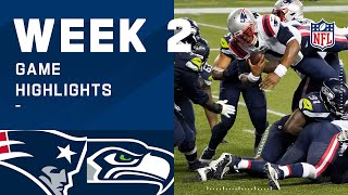 Patriots vs. Seahawks Week 2 Highlights | NFL 2020