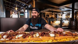 ONE MAN VS BRITAIN'S BIGGEST HOT DOG | Britain's Biggest Ep.2 | BeardMeatsFood