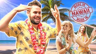 Irish People Try Hawaiian Hula Dancing