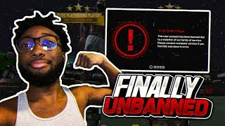 2K UNBANNED ME! UNSTOPPABLE NFL SUPERSTAR PULLS UP ON ME WITH HOVERBOARD AND DOES THIS ! NBA 2K19