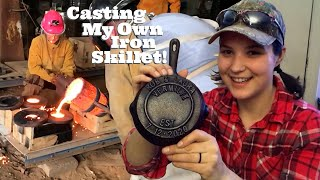 Making a Cast Iron Skillet Using Recycled Brake Rotors | Cast Iron Gypsy at the Windy Hill Foundry