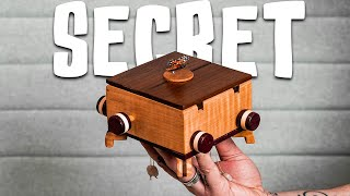 This Mechanical Puzzle Box Holds a SECRET!!