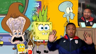 MEATCANYON - JIMMY NEUTRON CANT BREATHE & THE SPONGEBOB TAPE Reaction