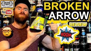 BROKEN ARROW PRE WORKOUT REVIEW || REPP SPORTS || MINDBLOWING SCORES!?