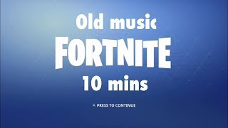 Alte Fortnite Musik [10 Mins of old times]❤️OnlyEcho