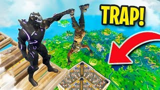 TOP 10 FUNNIEST TRAP KILLS! | Fortnite Battle Royale