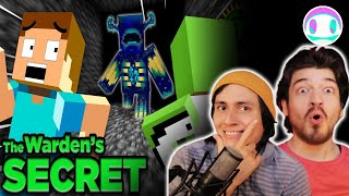 Reacting to Game Theory: The Minecraft Warden... SOLVED! w/ Dream