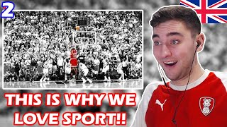 British Soccer Fan Reacts to the Greatest Sports Moments Part 2