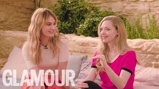Amanda Seyfried and Lily James Put Their Musical Knowledge To The Test  | GLAMOUR UK