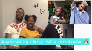 Jacquees & Chris Brown- Put In Work (Official Music Video) REACTION🔥
