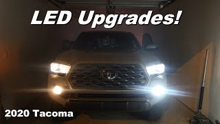 Top LED mods for the 2020 Toyota Tacoma | Interior and Exterior
