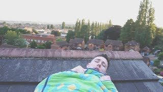 I Spent the Night on a Roof and It Didn't Go as Planned (Sleep on a Roof Challenge)