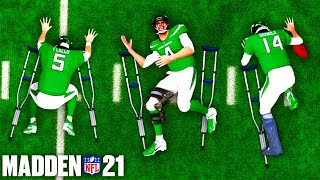 What Happens If EVERY Quarterback Gets Injured in Madden 21?