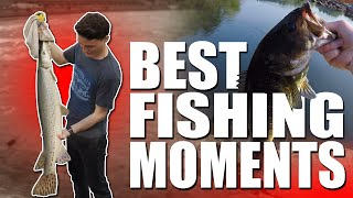 BEST FISHING MOMENTS! (2015) | DALLMYD