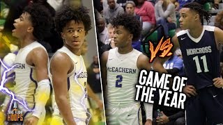 AAU TEAMMATES TURNED RIVALS! Sharife Cooper & Brandon Boston FACE OFF in FINAL FOUR MUST WIN GAME!!