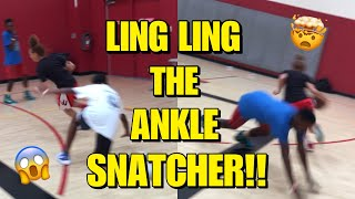 BREAKING ANKLES!!🤯😱🏀(LINGLING EDITION)