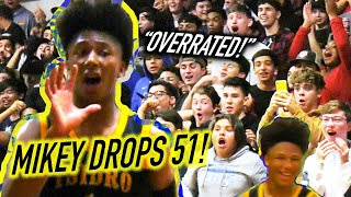 MIKEY WILLIAMS DROPS 51 & Gets OVERRATED CHANTS! HYPE CROWD Goes CRAZY Over EVERYTHING!