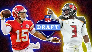 The BEST Quarterback From Each NFL Draft