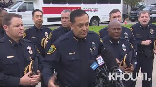Chief blasts the NRA, U.S. Senators after Houston officer's murder