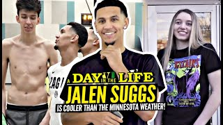 Jalen Suggs Kicks It w/ Paige Bueckers & Goes 1v1 vs Chet Holmgren In His Day In The Life!