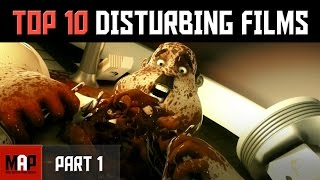Top 10 CREEPY & DISTURBING CGI Animated Films on Youtube (Part 1)