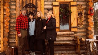 A Family Christmas at a Log Cabin in Canada 2019