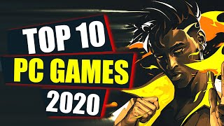 Top 10 NEW PC Games of 2020