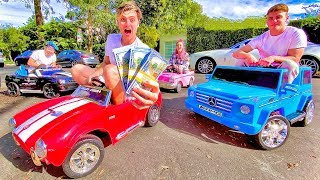 LAST TO LEAVE TINY CAR WINS $10,000