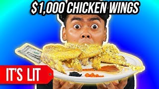 $1 Chicken Wing vs $1,000 Chicken Wing
