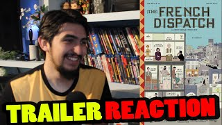 The French Dispatch (WES ANDERSON 2020) | Trailer Reaction