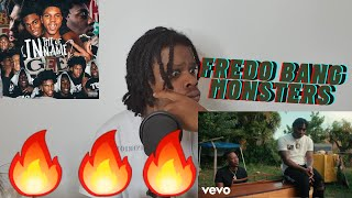 🇬🇧 REACTION TO Fredo Bang - Monsters | #FredoBang 🦍🦍