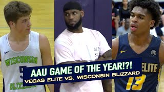 LEBRON Watches Jalen Green AND Josh Christopher OVERTIME BATTLE With Wisconsin Blizzard?!