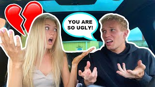 CALLING MY GIRLFRIEND UGLY PRANK! *SHE CRIES*
