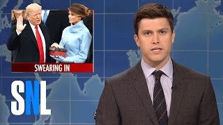 Weekend Update: Donald Trump Swears-In - SNL